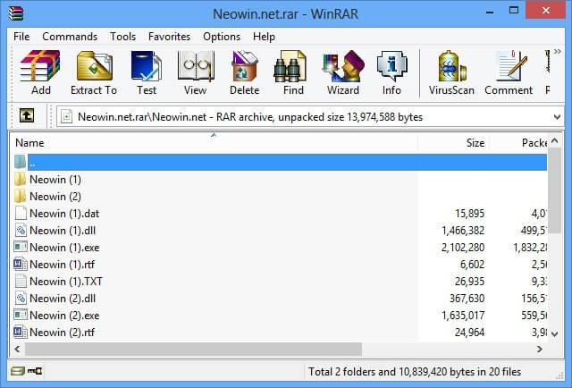 Winrar Archiver Free For Windows Vista - Keynescapasi
