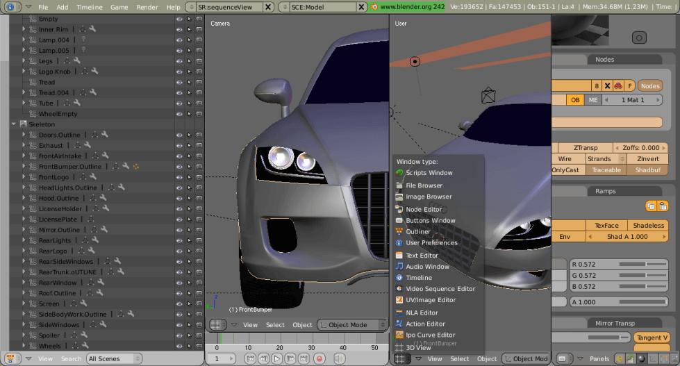 Скачать бесплатно программу для 3d моделирования автомобилей