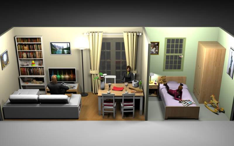 Sweet home 3d for Modele maison sweet home 3d